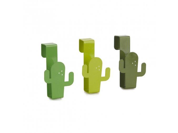 31787 3 31787 3 vesacky na zasuvky balvi cactus zelene 3ks