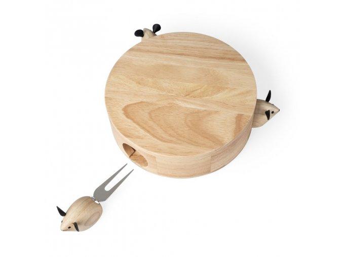 24035 4 24035 sada na servirovani syru balvi i love cheese 26922 drevo nerez