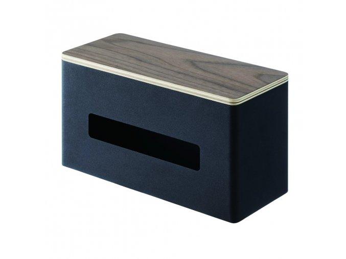 31046 31046 dvojity box na papirove kapesniky yamazaki rin 4765 cerny