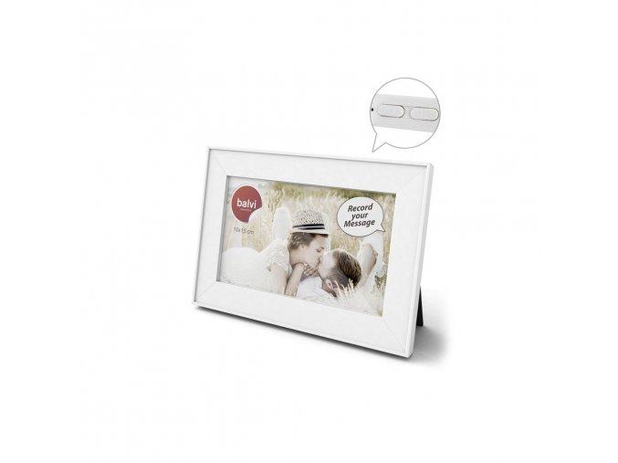 33575 stolni fotoramecek s nahravanim balvi frame message 25803