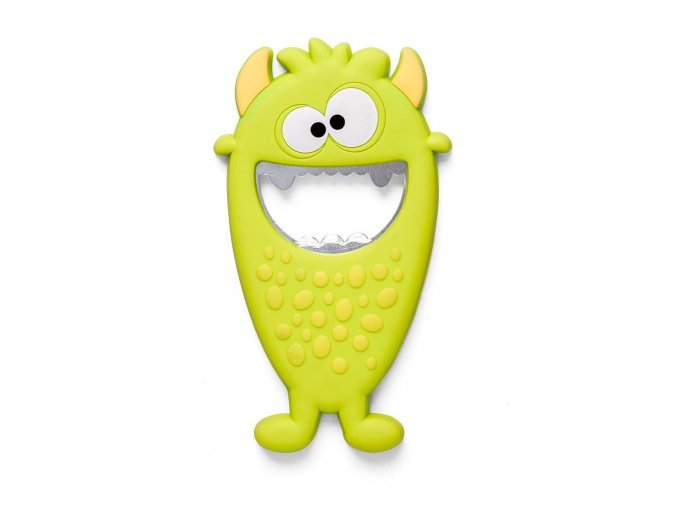 BALVI Magnetický otvírák Monster, zelený