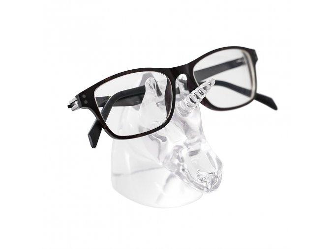 Stojánek na brýle BALVI Unicorn, průhledný