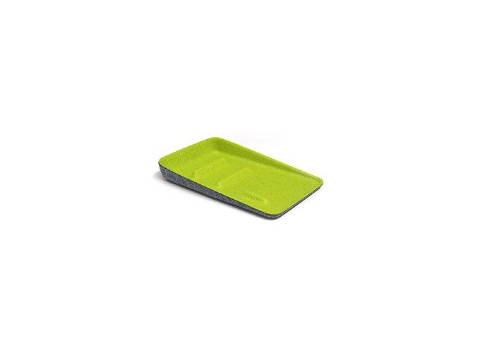 Předsíňová miska BALVI Keeper, šedá-zelená