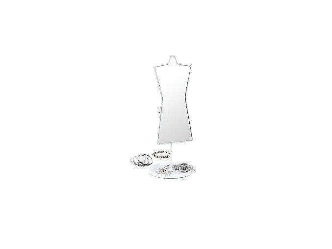 BALVI Stolní zrcadlo s věšáčkem na šperky Sissy