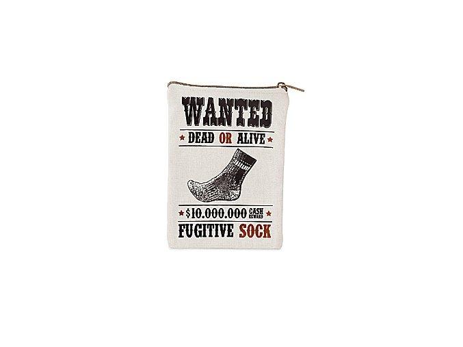 BALVI Pouzdro na osamělé ponožky Wanted