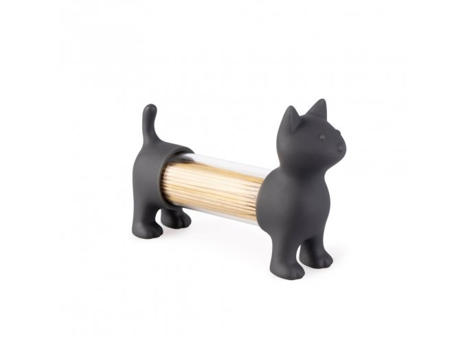 BALVI Stojánek na párátka / slánka / pepřenka Cat, šedý