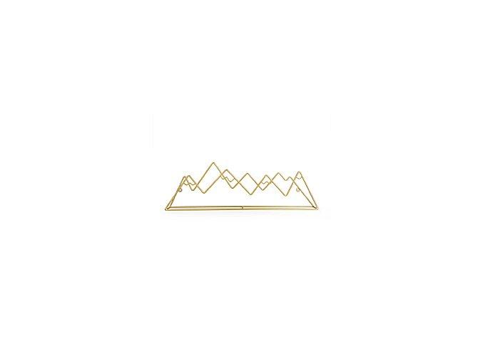 BALVI Věšák Mountain, zlatý