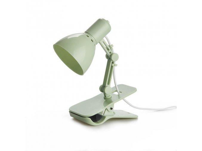 BALVI USB lampička s klipsem Clamp, zelená