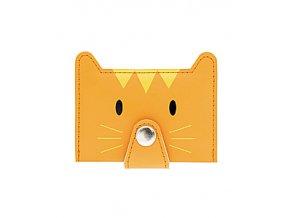 Pouzdro na karty BALVI Zoo, oranžové