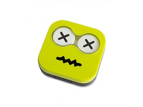 BALVI Pouzdro na čočky Emoji, zelené