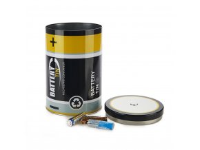 24089 nadobka na pouzite baterie balvi battery tin 27238