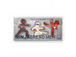 Vykrajovátka perníčků FRED Ninjabread Men, 3ks