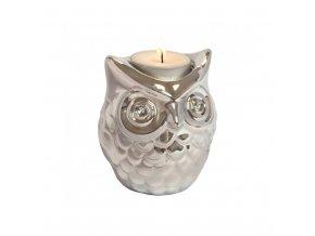 INVOTIS Sovička na čajovou svíčku Owl