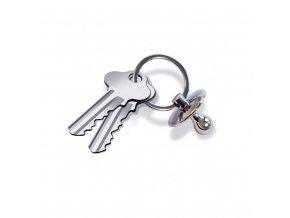 Dudlíková klíčenka INVOTIS Chain Pacifier
