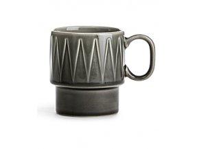 Hrnek SAGAFORM Coffee&More, 250 ml, šedý