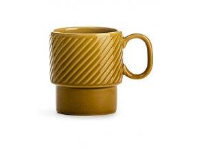 Hrnek SAGAFORM Coffee&More, 250 ml, žlutý