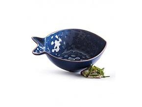 Servírovací miska SAGAFORM Fish, malá, modrá