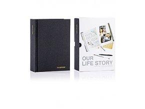 SUCK UK Společný deník Our Life Story, černý