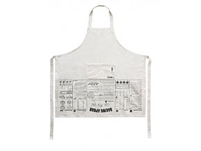 SUCK UK Instruktážní zástěra Baking Apron Guide
