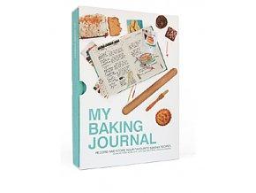 Kniha pečících receptů SUCK UK My Baking Journal