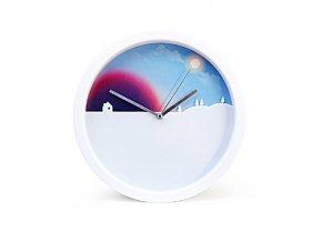 Hodiny SUCK UK Day&Night Clock, 25 cm