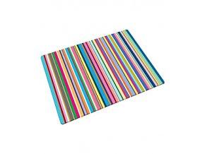 JOSEPH JOSEPH Skleněná podložka Worktop Saver 40 x 30 cm Stripes
