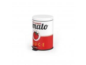 Odpadkový koš BALVI Tomato Sauce, 5L