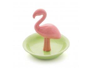BALVI Stojánek na prstýnky Flamingo