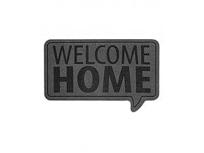Rohožka BALVI Welcome, šedá