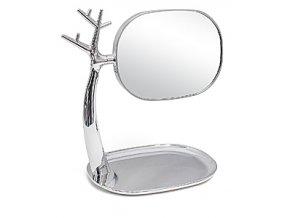 Zrcadlo s miskou BALVI Nature, chrom