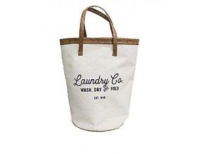 Koš na prádlo BALVI Vintage, béžový