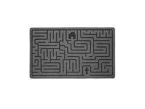 Rohožka BALVI Labyrinth, šedá