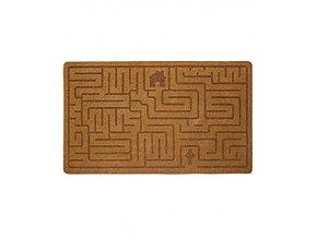BALVI Rohožka Labyrinth, hnědá