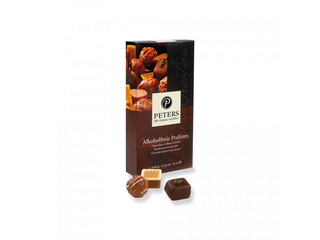 Alesiocz Peters pralinen Alcohol Free Chocolates 100g