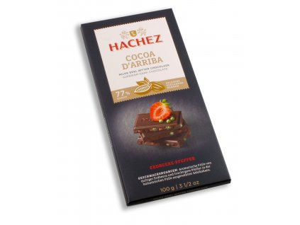 hachez cocoa darriba strawberrypepper 77 100 g