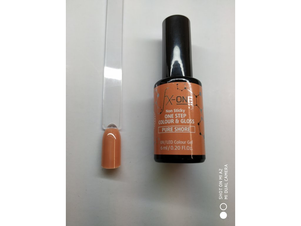 FX One Step Colour Gloss 6 ml-Pure Shore