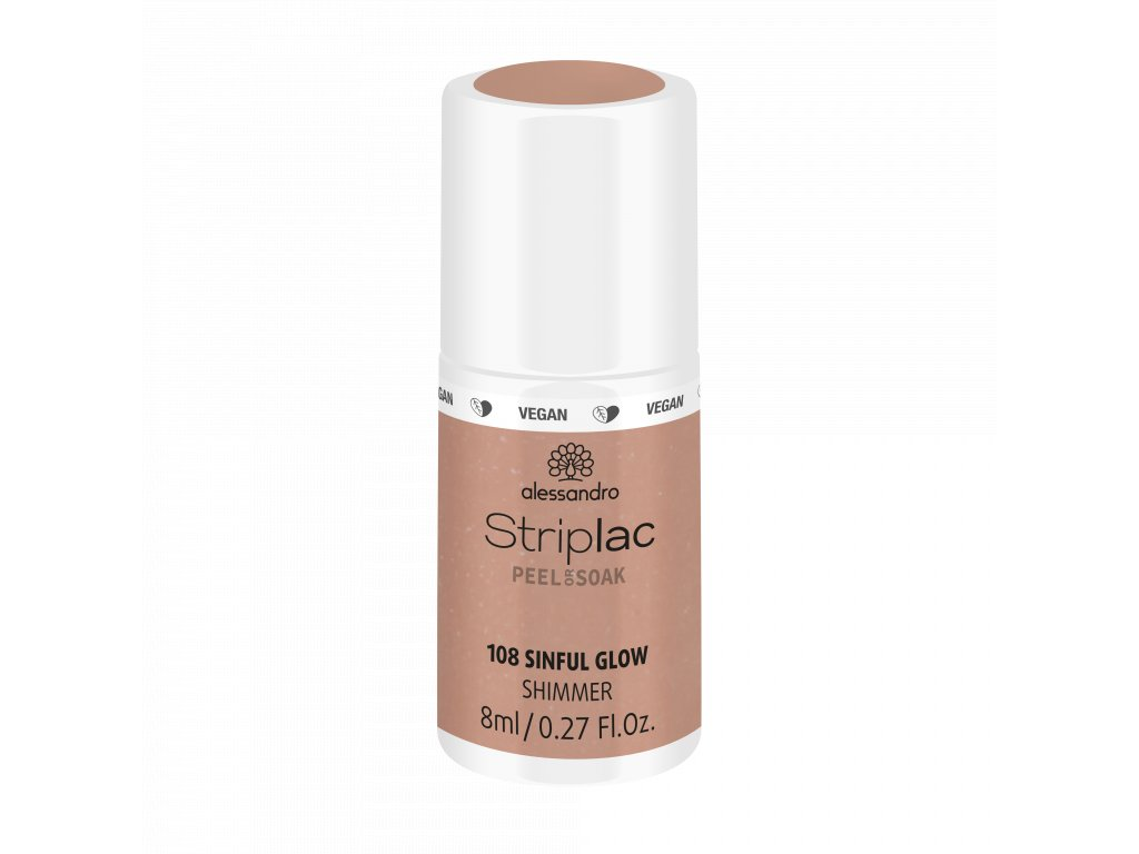 48 108 Striplac PeelOrSoak SinfulGlow 8ml FAKE