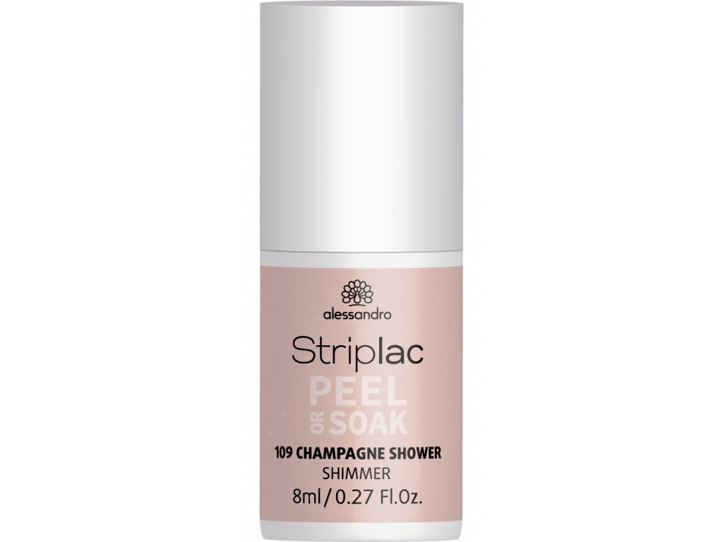 48 109 Striplac PeelOrSoak ChampagneShower 8ml FAKE