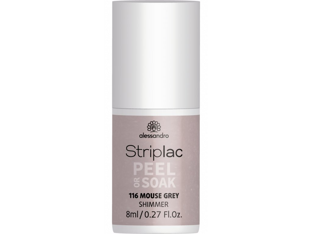 48 116 Striplac PeelOrSoak MouseGrey 8ml FAKE