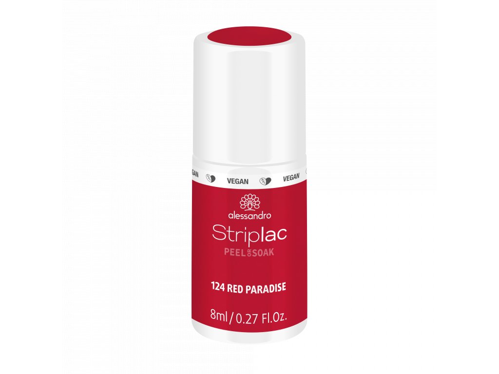 48 124 Striplac PeelOrSoak RedParadise 8ml FAKE