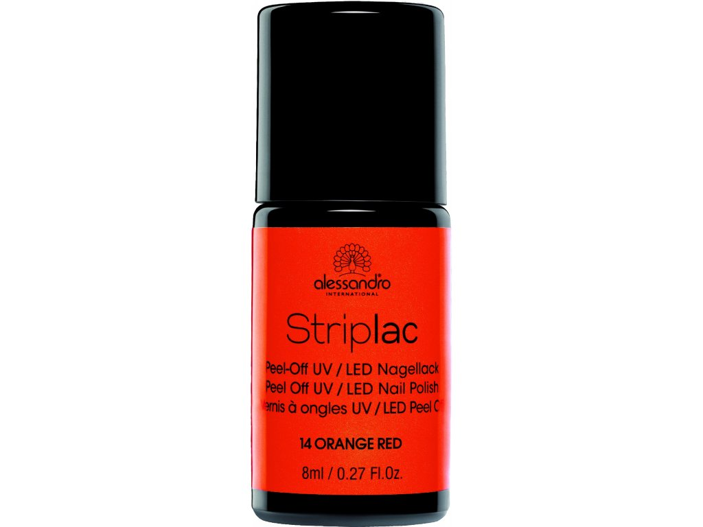 Striplac 114 Orange Red 8 ml