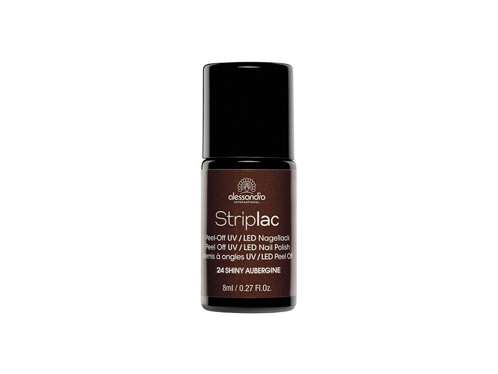 Striplac 124 SHINY AUBERGINE 8 ML
