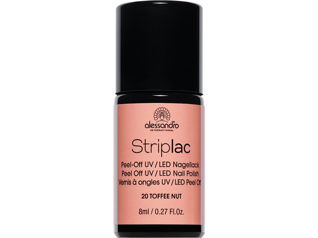 Striplac 120 Toffee Nut 8 ml
