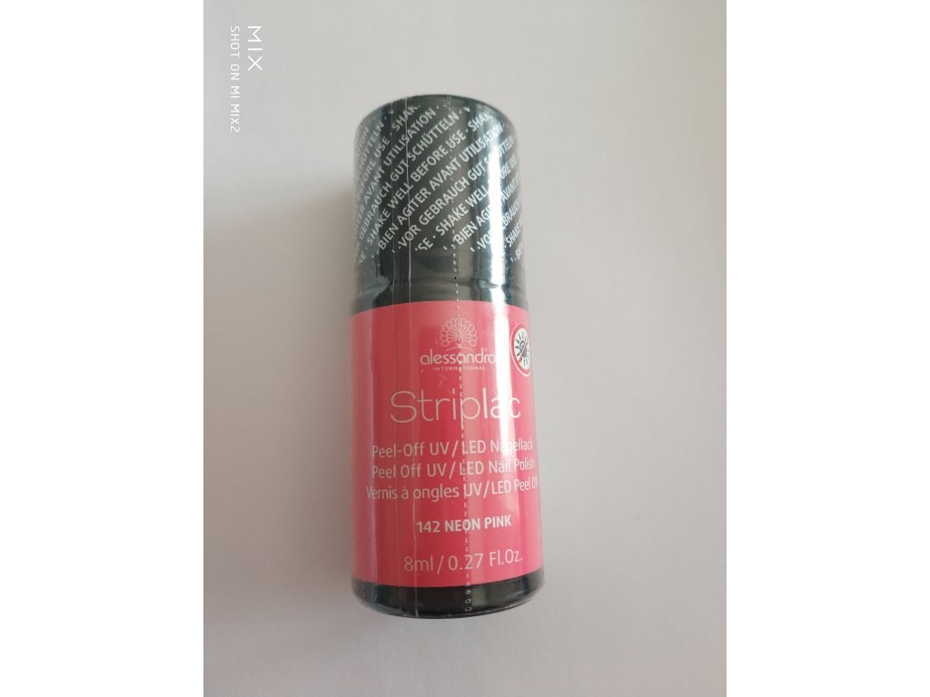 Striplac 142 Neon Pink  8 ml