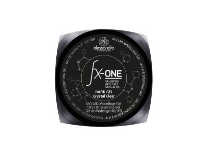 02 416 FX One Hard Gel Crystal Clear D