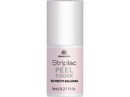 48 103 Striplac PeelOrSoak PrettyBallerina 8ml FAKE