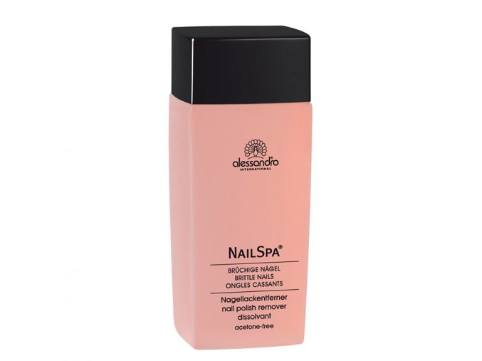 Nail Spa odlakovač růže 120 ml