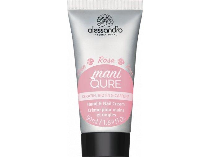 12 112 Maniqure Hand Nail Cream Rose Tube 50ml