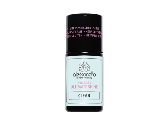 Ultimate Shine CLEAR - bezvýpotkový lesk  7,5 ml