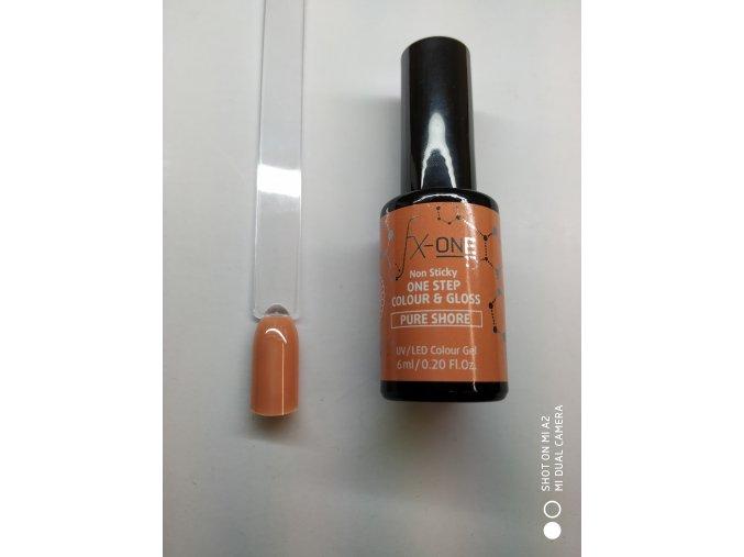 FX One Step Colour Gloss 6 ml-Pure Shore